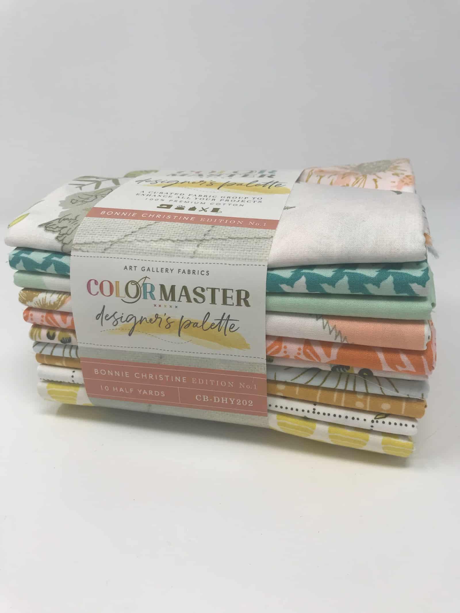 ColorMaster 1/2 yd Bundle Bonnie Christine