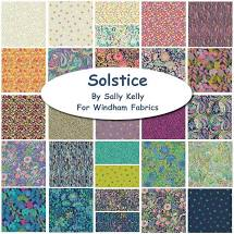 Solstice by Sally Kelly Fat Quarter Bundle