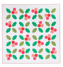 Holly Jolly Quilt Pattern, then came june, pen and paper patterns, meghan buchanan