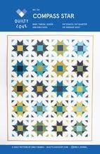 compass star quilt pattern, emily dennis, quilty love, beginner friendly, fat quarter friendly