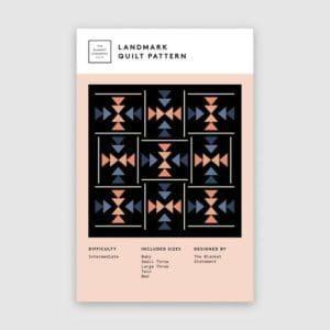Landmark quilt pattern, the blanket statement, Erin Kroeker, Canadian, intermediate