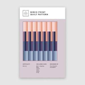 Birch Point quilt pattern, the blanket statement, Erin Kroeker, Canadian, beginner