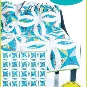 Metro Lattice quilt pattern, QCR, quick curve ruler, sew kind of wonderful, curved piecing