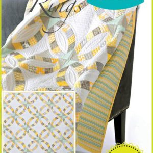Metro rings quilt pattern, QCR, quick curve ruler, sew kind of wonderful, curved piecing
