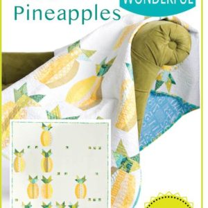 Mod Pineapples quilt pattern, QCR, quick curve ruler, sew kind of wonderful, curved piecing