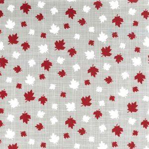 moda, kate & birdie, true north 2, maple leaf, maple, canada, red, 513212-17, grey