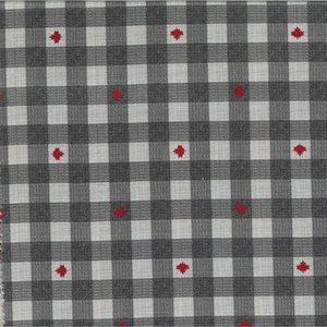 moda, kate & birdie, true north 2, maple leaf, maple, canada, red, 513215-19, grey