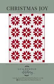 christmas joy quilt pattern by Brittany Lloyd