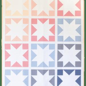 Inside Out Star Quilt Pattern, Then Came June, Meghan Buchanan