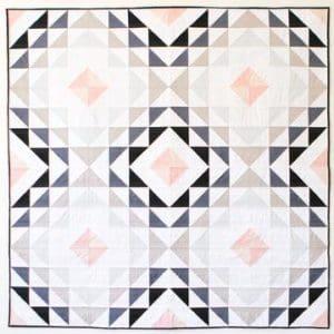 diamond ripples quilt pattern, then came june, meghan buchanan