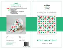 Holly Jolly Quilt pattern fabric requirements