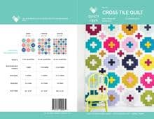 cross tile quilt fabric requirements