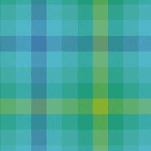 kaleidoscope, allison glass, andover, plaid, yellow, teal, green, 9541