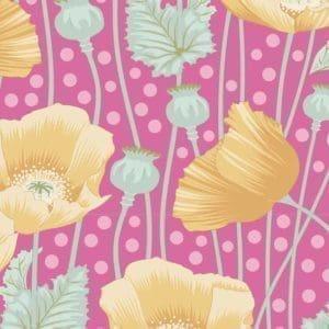 tilda, gardenlife, poppies pink, 100303
