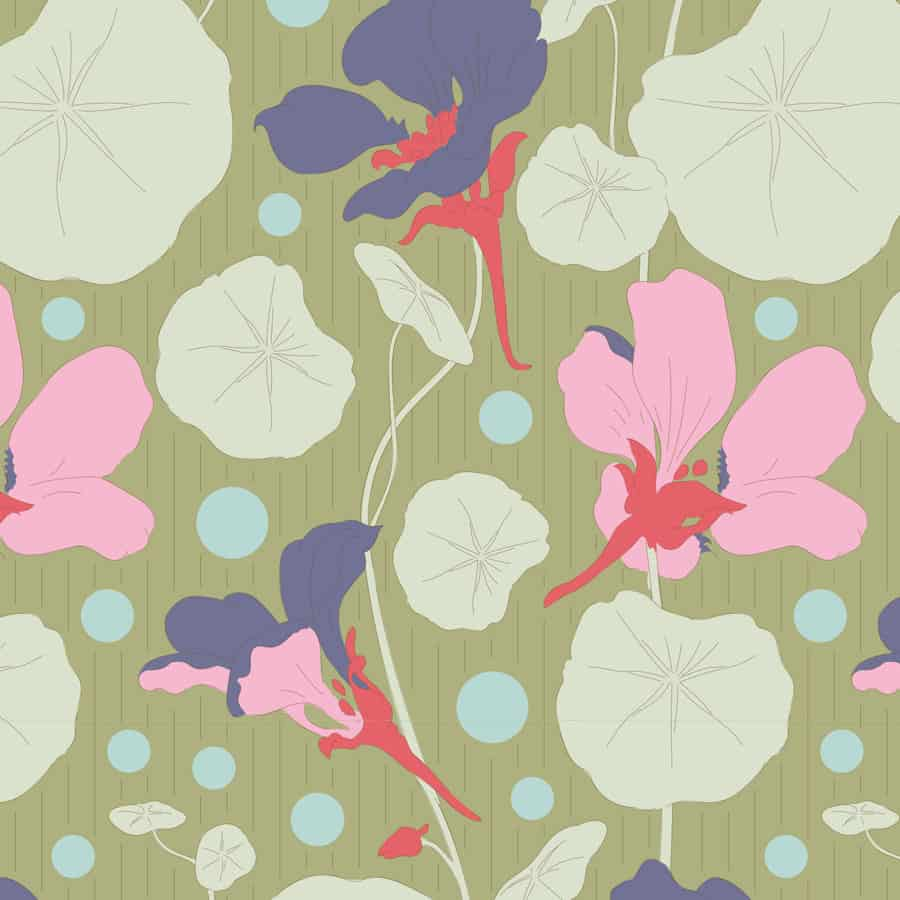 tilda, gardenlife, nasturtium green, 100311