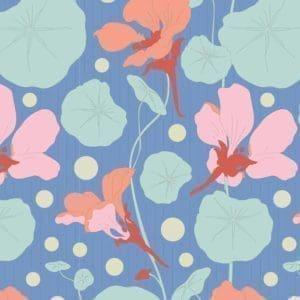 tilda, gardenlife, nasturtium blue, 100317