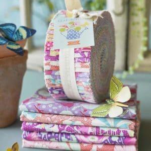 tilda, gardenlife, fabric roll