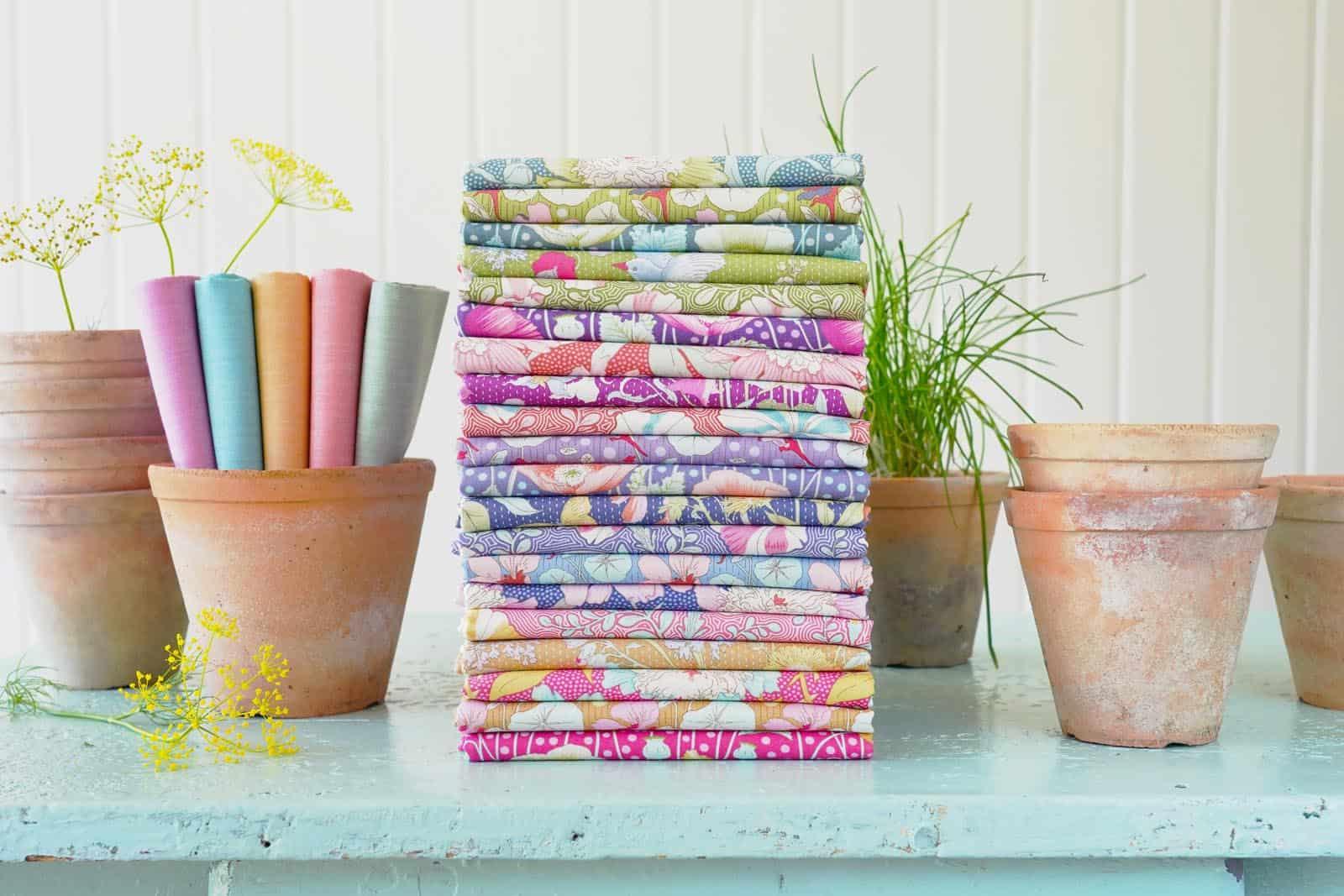 tilda, gardenlife, fat quarter bundle, full collection