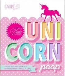 Unicorn Poop Aurifil Thread Collection Tula Pink
