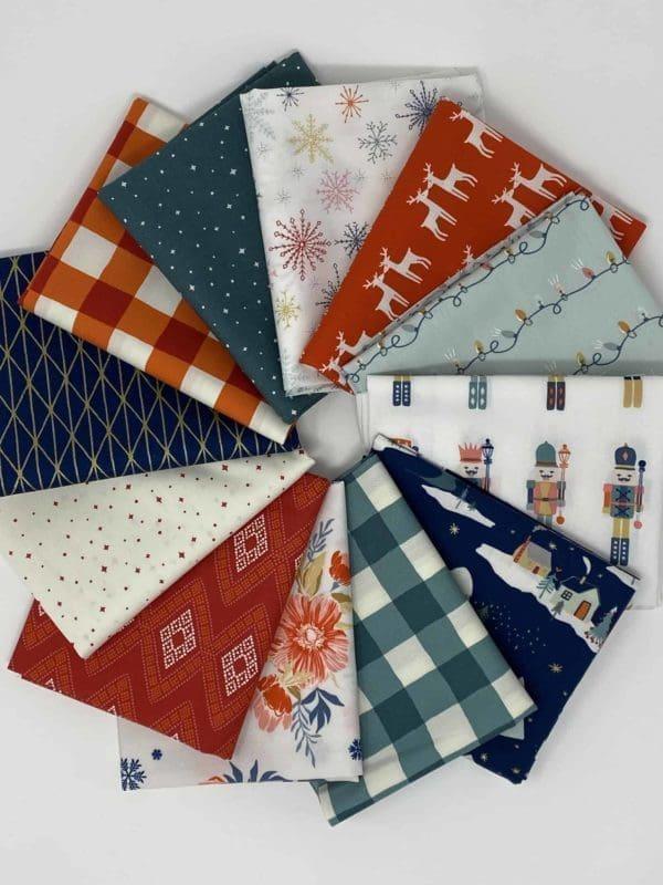 Cozy & Joyful, Art Gallery Fabrics, AGF, Maureen Cracknell