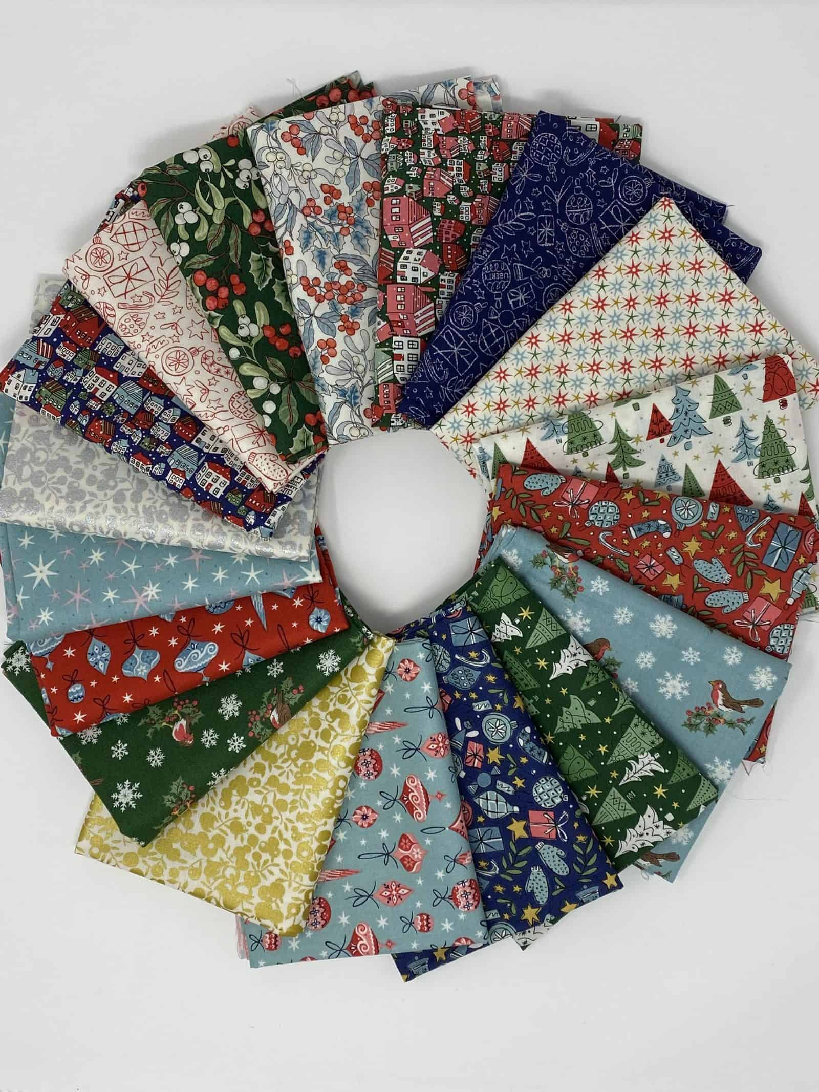 Festive Collection, Liberty of London, Quilting Cotton, Christmas