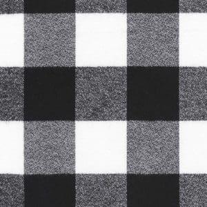 Mammoth Flannel Wide, Robert Kaufman, black & white check
